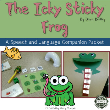 """The Icky Sticky Frog"" Book Companion"