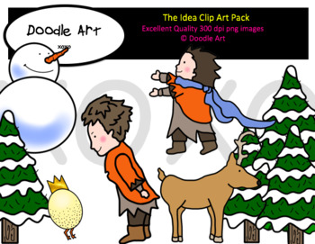 The Idea Clipart Pack