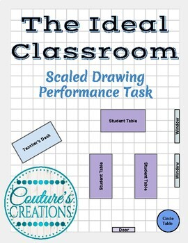 The Ideal Classroom - Scaled Drawing Performance Task / Assessment