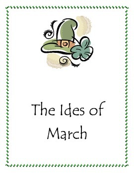 The Ides of March Writing packet