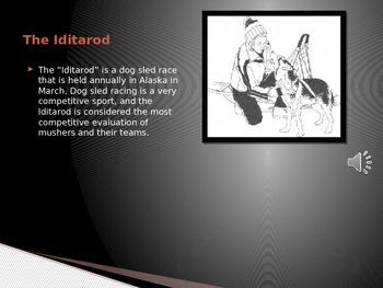 The Ididarod Powerpoint with Audio