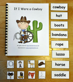 The If I Were a Cowboy Adapted Book