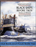 The Iliad - Black Ships Before Troy Mid/Final Book Test & Graphic Novel Project