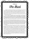 The Iliad: Reading, Questions, and Activities