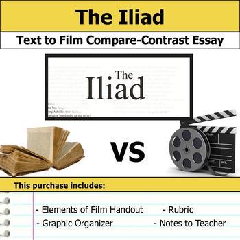 The Iliad - Text to Film Essay Bundle