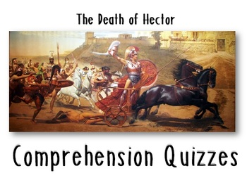 The Iliad, The Death of Hector Quiz