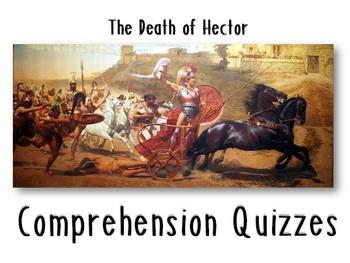The Iliad, The Death of Hector Quiz