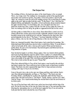 The Iliad: The Story of the Trojan War