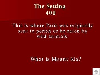 The Iliad Trivia Game