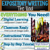 The Iliad by Homer - Textual Evidence Analysis Expository Writing