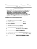 The Iliad by Homer--Worksheet Packet