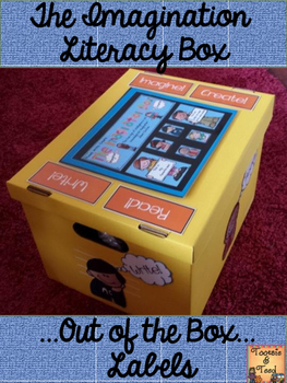 The Imagination Literacy Box Add On:  Out of the Box Labels!