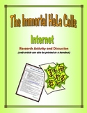 """""""The Immortal HeLa Cells"""" Web Search"""
