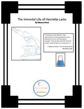 The Immortal Life of Henrietta Lacks by Rebecca Skloot Mini-Unit 2 Lessons