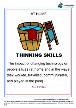 The Impact Of Changing Technology On People's Lives – At Home ACHHK046