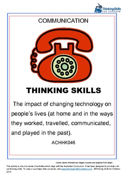 The Impact Of Changing Technology On People's Lives – Communication ACHHK046