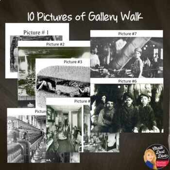 The Impact of the Industrialization Gallery Walk Activity (U.S. History)