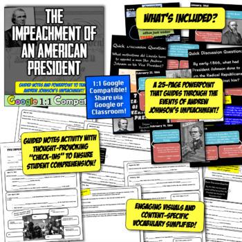 Impeachment of Andrew Johnson: Johnson, Reconstruction, & the Impeachment Trial!