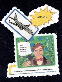 The Importance of Being Earnest v. the film Airplane Lesson