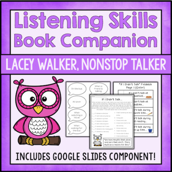 The Importance Of Listening: Lacey Walker, Nonstop Talker