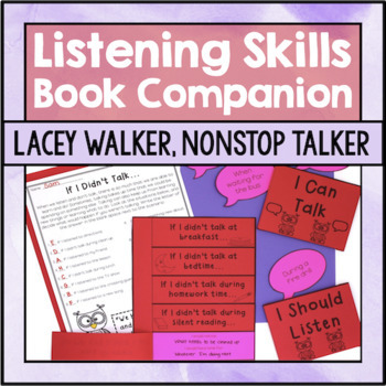 Self Control Activities: Lacey Walker, Nonstop Talker