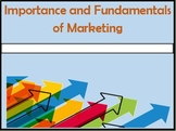 The Importance and Fundamentals of Marketing