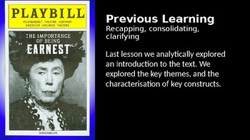 The Importance of Being Earnest (1) Act 1 Part 1