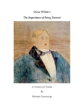 The Importance of Being Earnest: Crossword Puzzle and Grammar Exercise