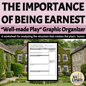"The Importance of Being Earnest (Wilde) Graphic Organizer: The ""Well-Made Play"""