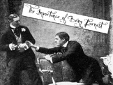The Importance of Being Earnest --- Introduction & Background