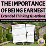 The Importance of Being Earnest Journal Prompts