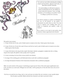 The Importance of Being Earnest Performance Task