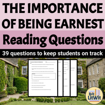 The Importance of Being Earnest (Oscar Wilde) Study Guide