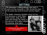 The Importance of Being Earnest Study Unit