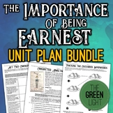 The Importance of Being Earnest Unit Bundle: Worksheets, A