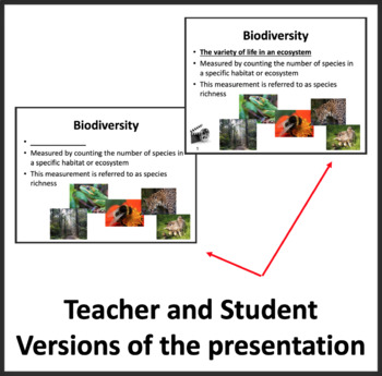 The Importance of Biodiversity - Google Slides and PowerPoint Lesson