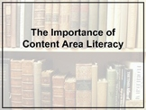 The Importance of Content Area Literacy