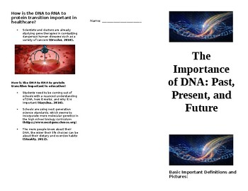 The Importance of DNA: Past, Present, and Future