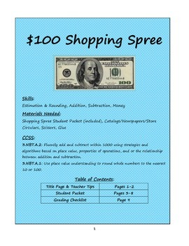 Estimate and Attend to Precision Shopping Spree