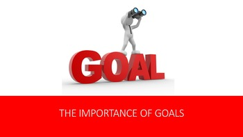The Importance of Goals Lesson