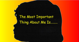 The Importance of Me.   A Writing Project