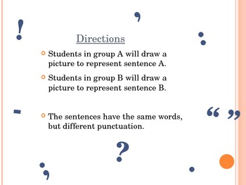 """The Importance of Punctuation"" Activity"