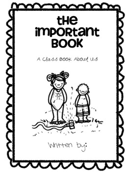 The Important Book-3 Writing Lessons
