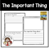 The Important Book General Templates