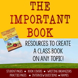 The Important Book: Resources for Class Books