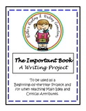 The Important Book Writing Project