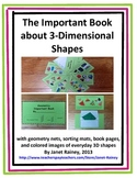 The Important Book about Geometry: Three-Dimensional Shapes