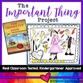 The Important Book Project! Writing & art w/ a family portrait ... conferences