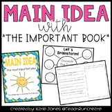 Teaching Main Idea with The Important Book