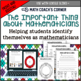 The Important Thing About Mathematicians (The Important Bo